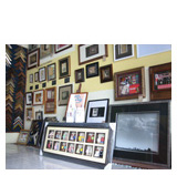 frame sample wall