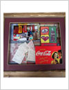 shadow box frame, multi layers frame, scrapbooking