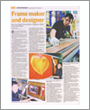 star sunday metro, frame maker and designer, first asian to qualify as a Guild Commended Framer